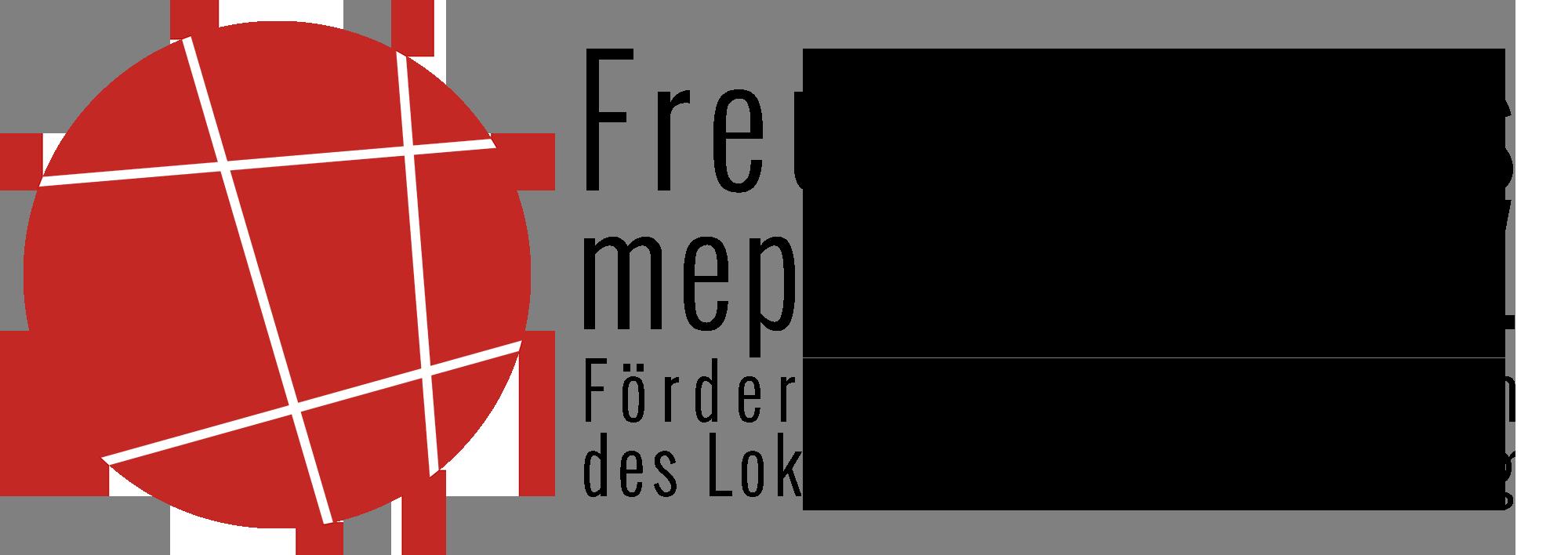 Logo des Freundeskreis mephisto 97.6 e.V., Förder- und Alumni-Verein des Lokalradios der Uni Leipzig
